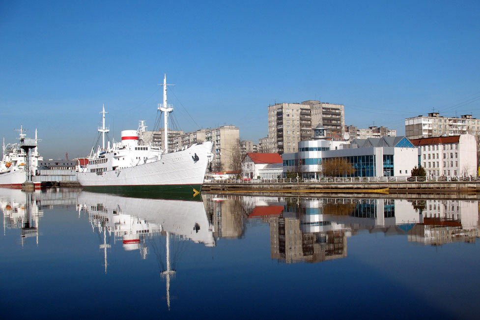 berth near world ocean museum kaliningrad big